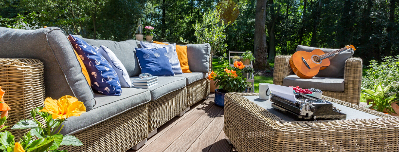 4 Fantastic Color Schemes For A Perfect Patio