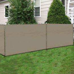 Custom Fence Privacy Screens